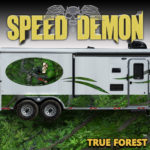 Bow Reaper Forest Camouflage Rv Rocker Wrap